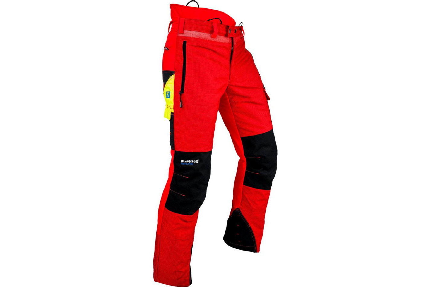 PANTALON ANTI COUPURE PFANNER GLADIATOR VENTILATION - ROUGE