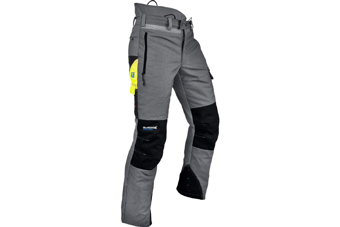 PANTALON ANTI COUPURE PFANNER GLADIATOR VENTILATION - GRIS