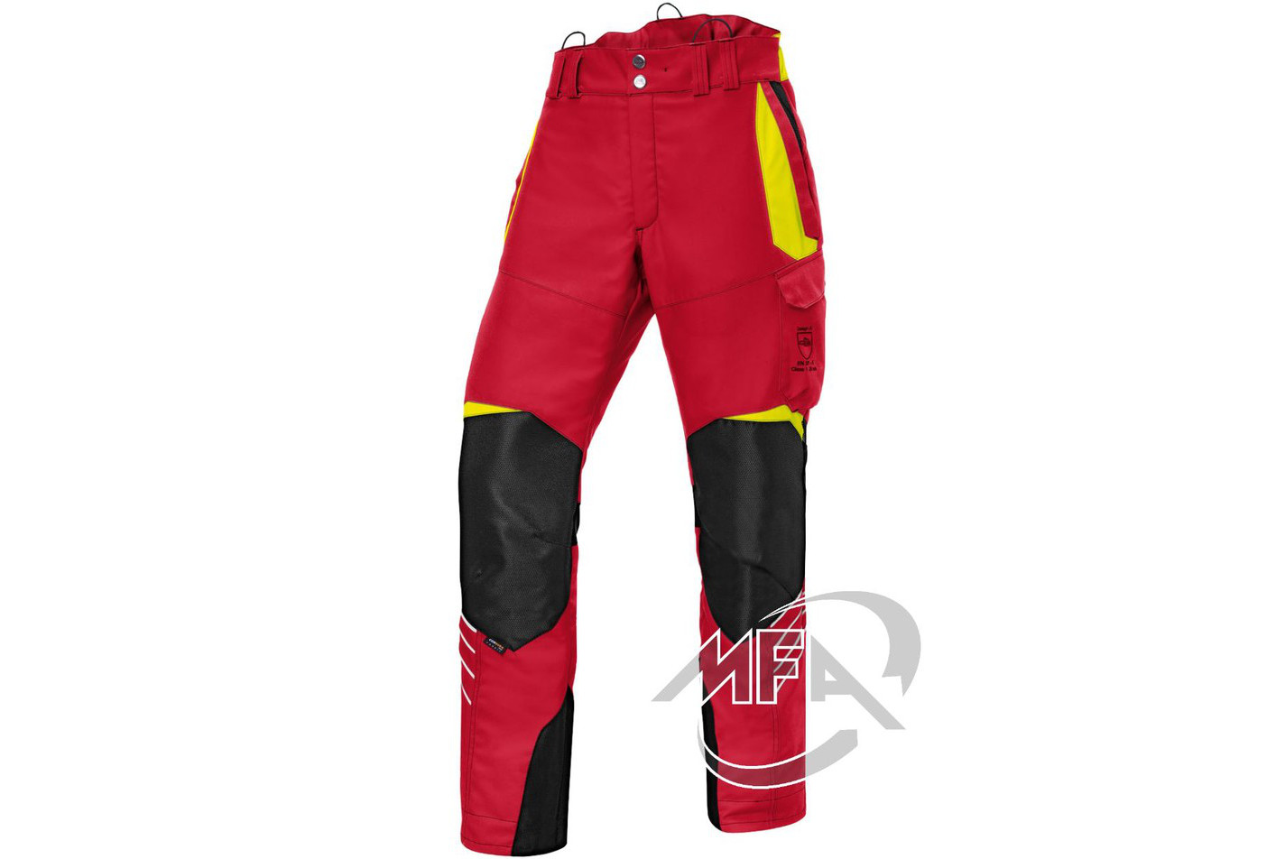 Pantalon anti coupure Forest Kübler - Rouge